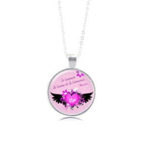 """Collier """"Les Ailes du Coeur"""" by Milawithyou"""